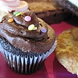 After much deliberation, I decided to eat the mini chocolate cupcake for dessert.