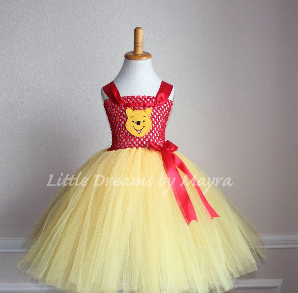 2e3fddb54294 Winnie the Pooh-Inspired Tutu Dress