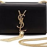 Saint Laurent Cassandre Small Tassel Crossbody Bag ($1,890)