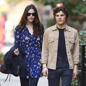Pictures of Liv Tyler and Boyfriend Theo Wenner in New York