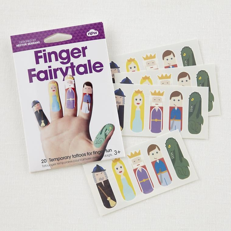The Land of Nod Tattoo Fairy-Tale Finger Puppets