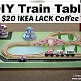 DIY a Bargain of a Train Table