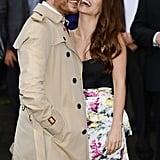 In love in 2012.