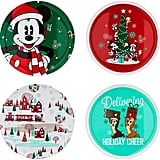 Disney Mickey Mouse and Friends Holiday Plate Set