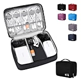 Amerteer Travel Electronics Accessories Organizer Bag