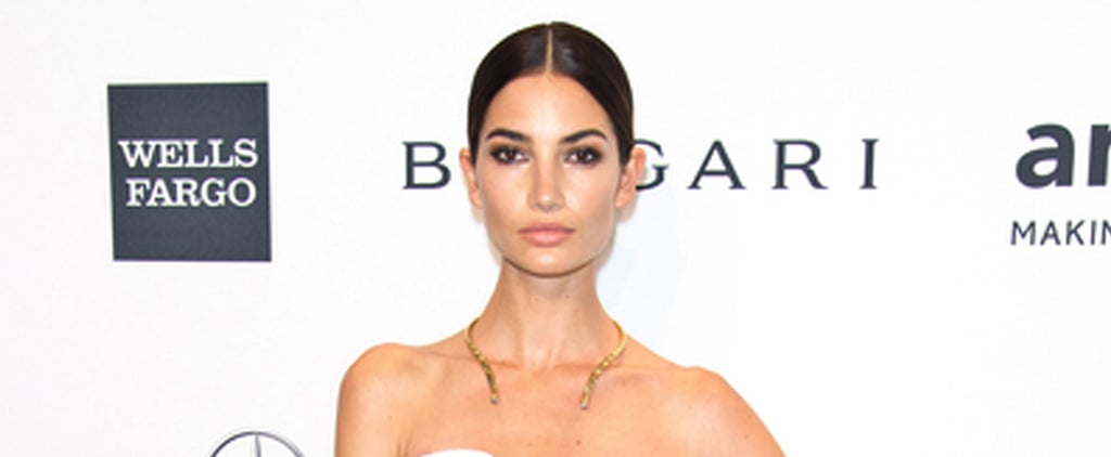 Lily Aldridge at the 2014 amfAR Gala | Video