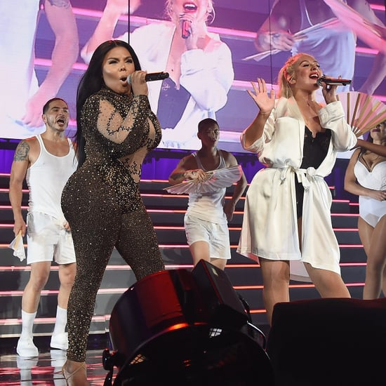 Christina Aguilera and Lil' Kim Perform Lady Marmalade 2018