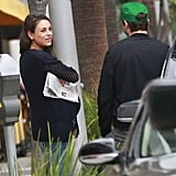 Ashton Kutcher and Mila Kunis Out in LA October 2016