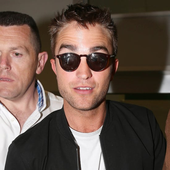 Robert Pattinson Arrives at the Cannes Film Festival 2014