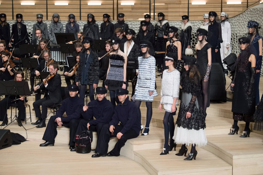 Chanel's Runway Show Had Everything: Kaia Gerber, Lily-Rose Depp, and a Giant Orchestra