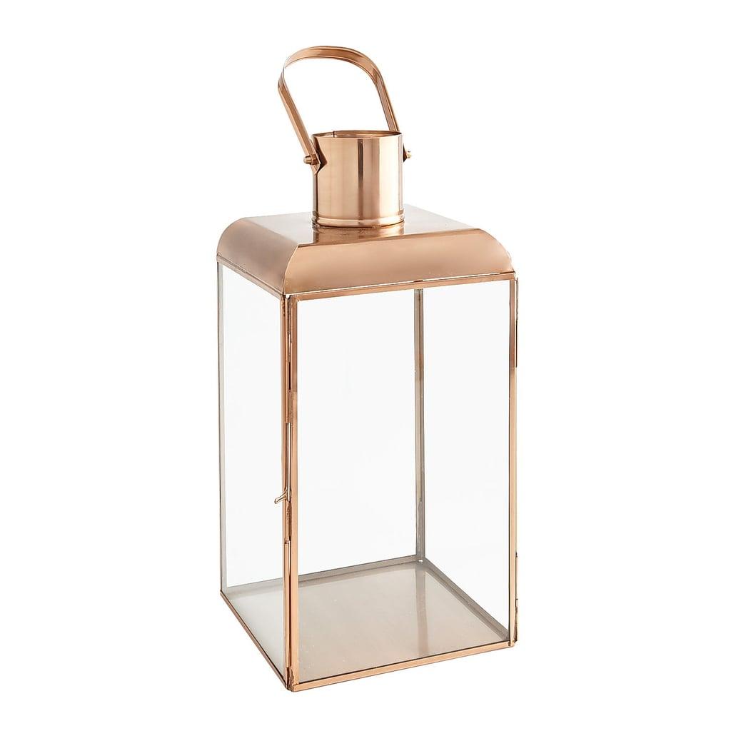Small Copper Square Lantern