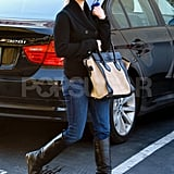 Reese Witherspoon carried a Celine bag out for a shopping trip.