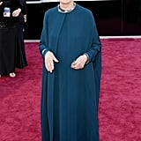 Emmanuelle Riva hit the Oscars red carpet.