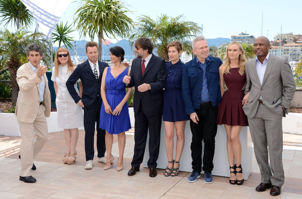 Jury members Alexander Payne, Raoul Peck, Diane Kruger, Jean Paul Gaultier, Emmanuelle Devos, Nanni Moretti, Hiam Abbass, Ewan McGregor, and Andrea Arnold had fun together at the jury photocall during the 65th annual Cannes Film Festival.