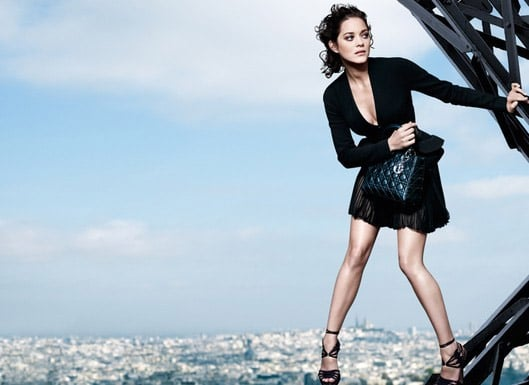 French Actress Marion Cotillard Stars in Christian Dior's Lady Dior Spring '09 Ads