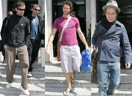 15/6/2009 Take That At Their Hotel