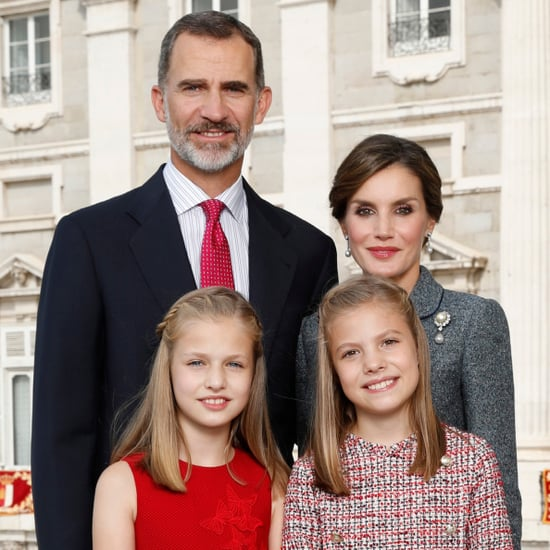 The Spanish Royal Family's 2017 Christmas Card