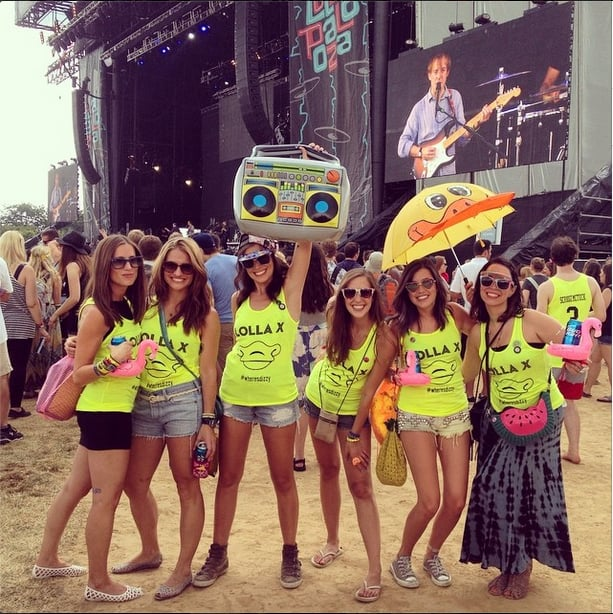 Forget ladies who lunch. It's all about ladies who #lolla.  Source: Instagram user lollapalooza