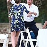 Prince Harry and Meghan Markle at Wedding in Jamaica 2017
