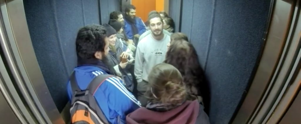 Shia LaBeouf Has Locked Himself in an Elevator, and It's Kind of Fascinating to Watch