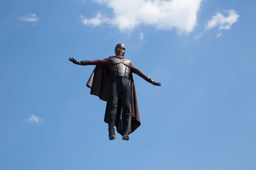 Magneto rises above the fray.