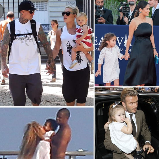 Celebrity Family Pictures For Week of Sept. 9, 2012