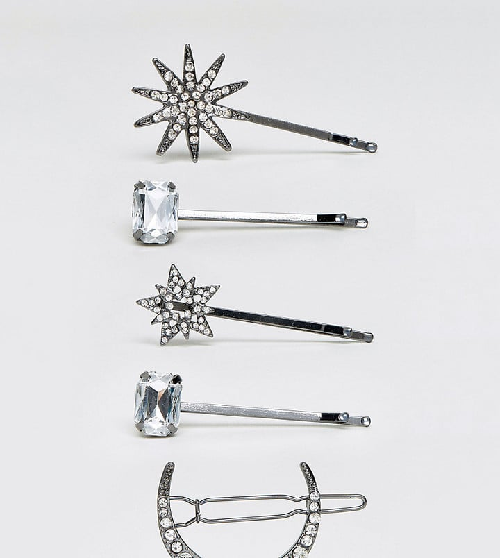 Aldo Nianiel Star & Moon Hair Pins