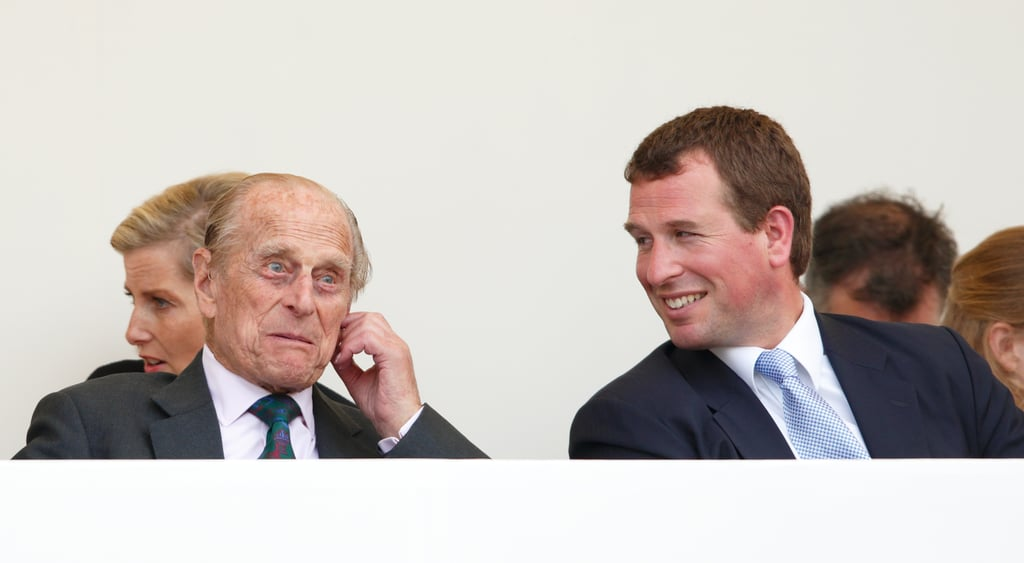 Philip chatted with Peter during the Patron's Lunch in June 2016.