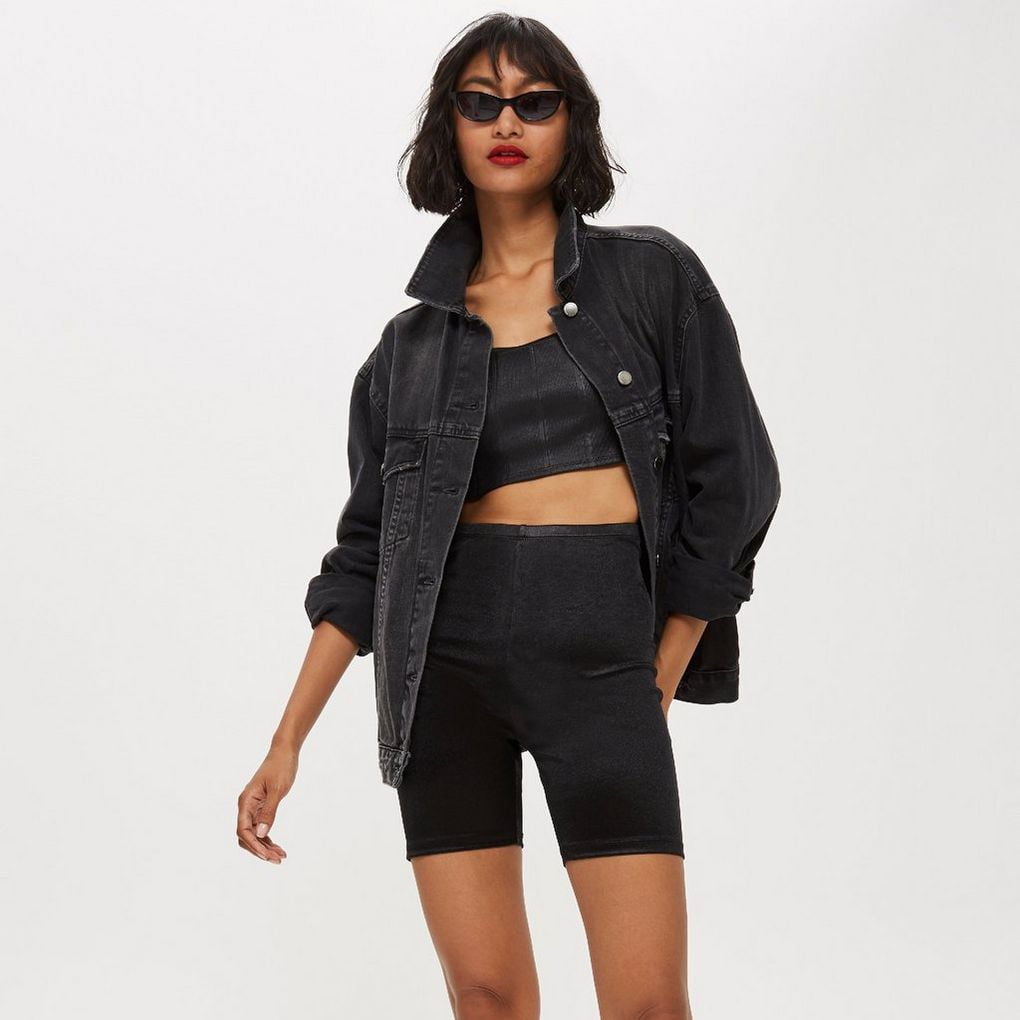 Topshop Disco Cycling Shorts