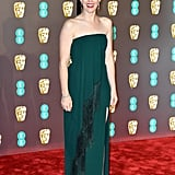Claire Foy at the 2019 BAFTA Awards