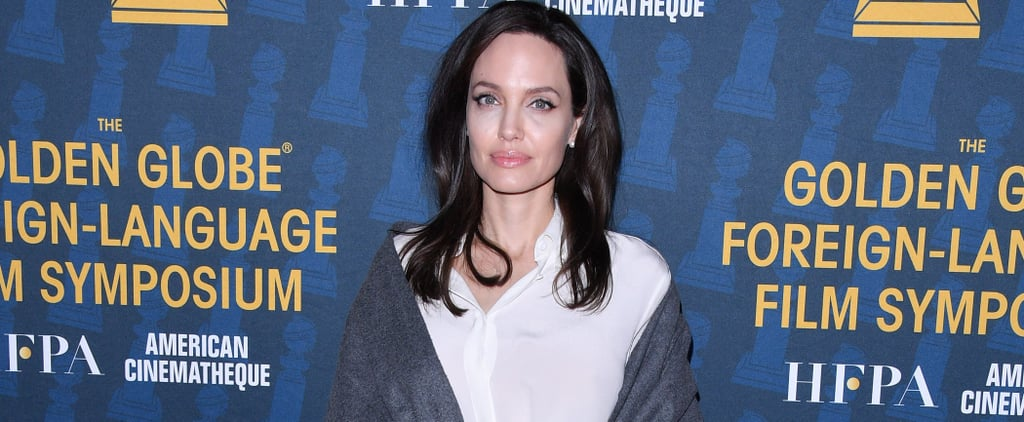 Angelina Jolie Stuns on the Red Carpet Ahead of the Golden Globes