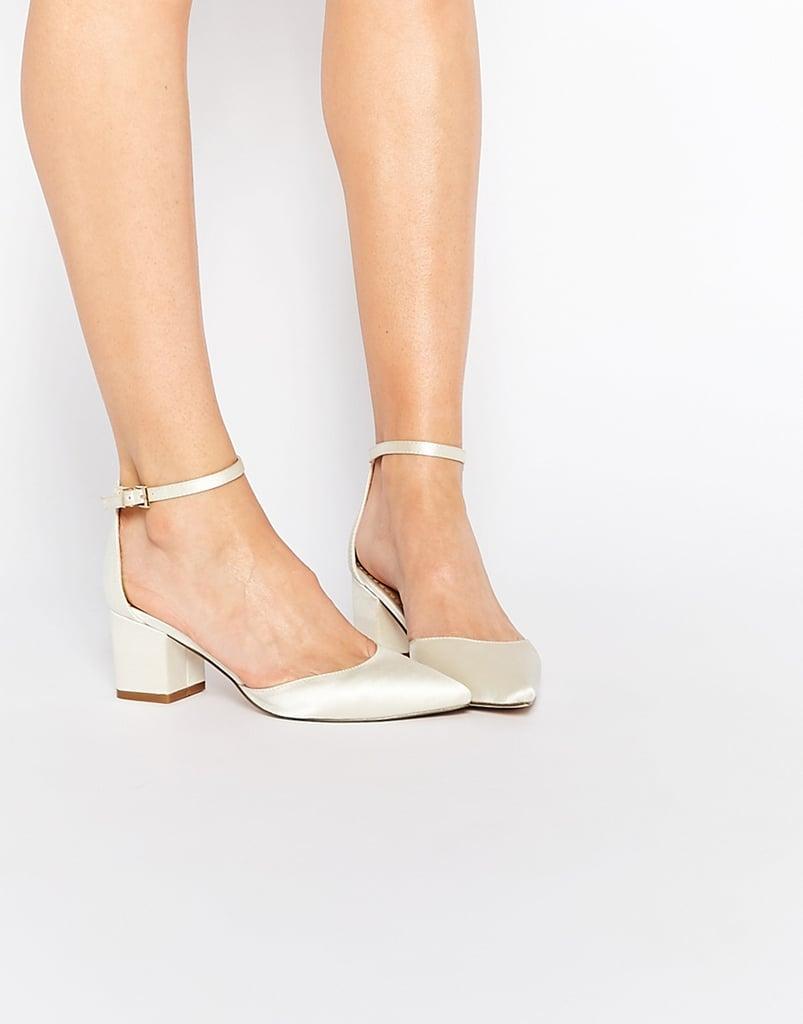 Asos Bridal Pointed Heels ($64)