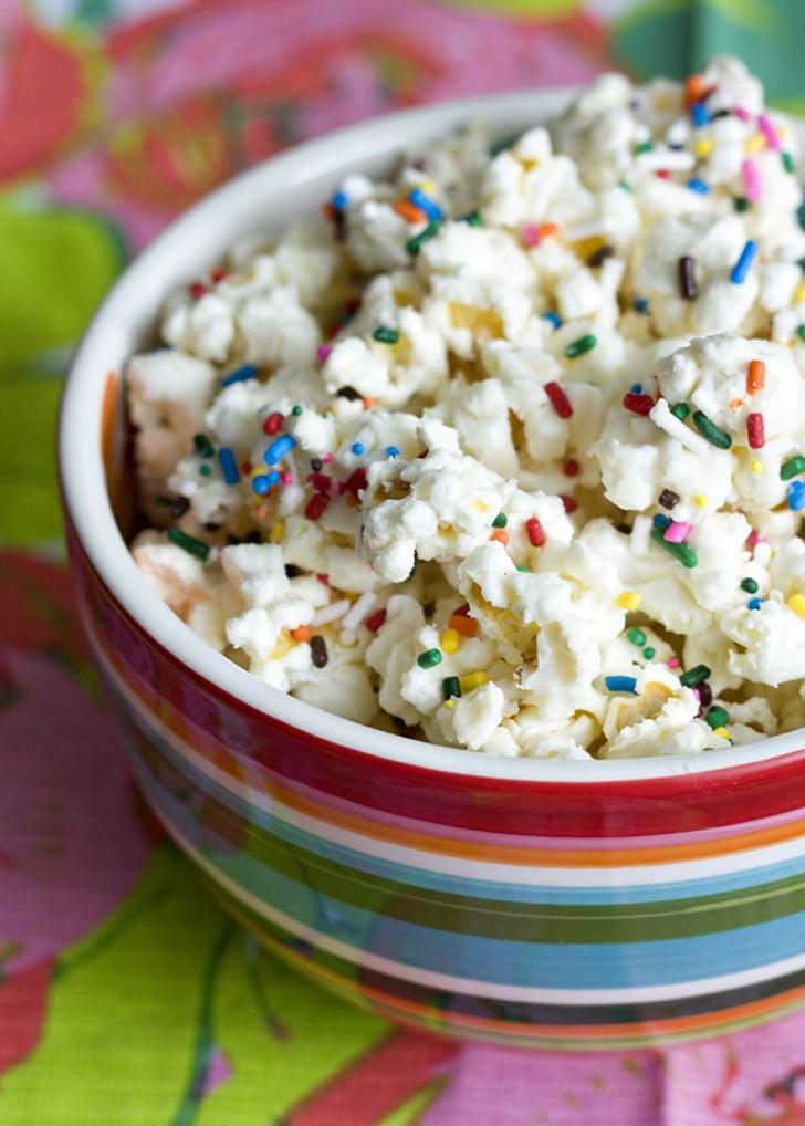 Cake-Batter Popcorn