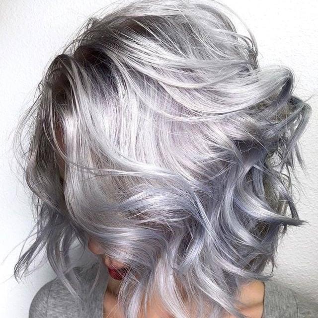 Silver Hair Ideas Popsugar Beauty