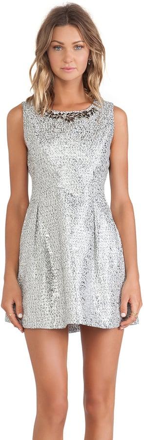 JOA Embellished Dress