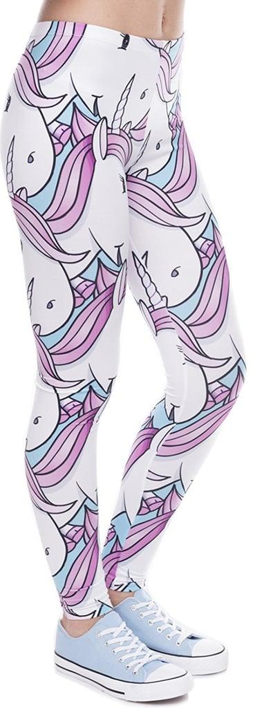 Ndoobiy Printed Unicorn Leggings