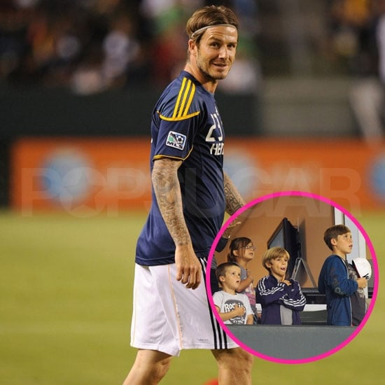 David Beckham and the LA Galaxy Clinch a Spot in MLS Cup