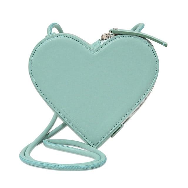 Christopher Kane Heart Shaped Shoulder bag ($560)