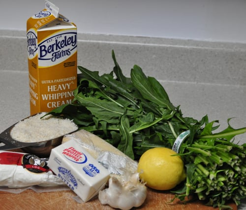 Creamy Dandelion Greens With Goat Cheese Gratin Recipe ...