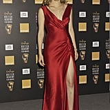 Alicia Silverstone attended the awards in 2004 in a red dress.