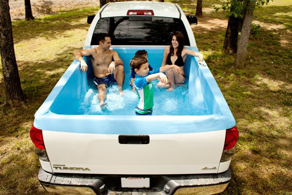 Pick Up Pools Are The Coolest Way To Bring Party Parking Lot