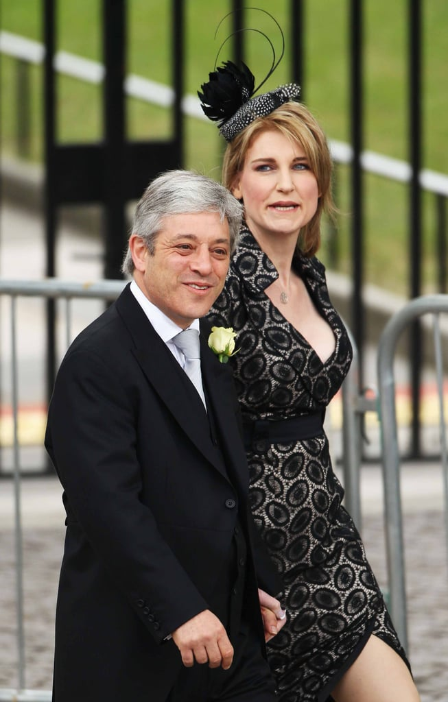 House of Commons Speaker John Bercow and Sally Bercow