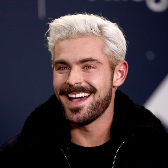 Zac Efron Platinum Blond Hair 2019