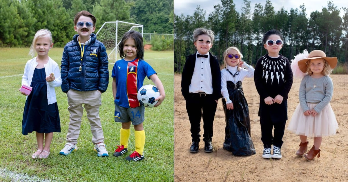 Mom Dresses Her 3 Kids in Pop Culture Costumes Every Day of October — and We're Not Worthy.jpg
