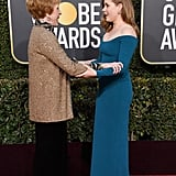 Pictured: Carol Burnett and Amy Adams