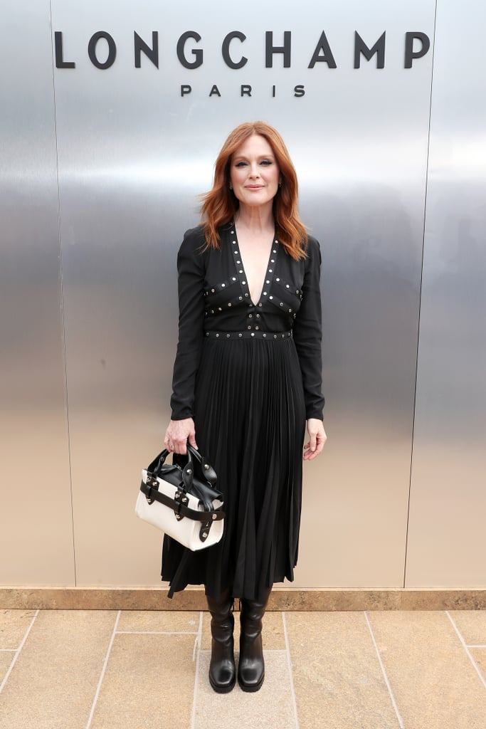 Julianne Moore at the Longchamp New York Fashion Week Show
