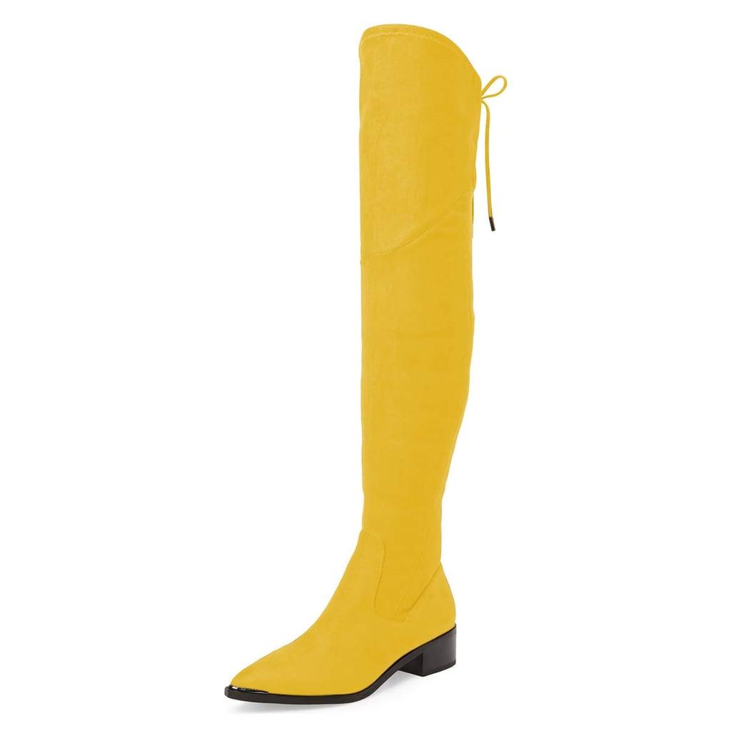 XYD Women Trendy Over the Knee Boots
