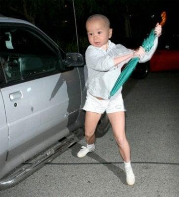 Jack as Britney.