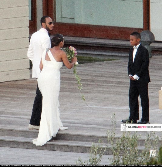 Alicia Keys and rap producer Swizz Beatz tied the knot during a swanky ceremony in Corsica, France.