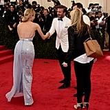 David Beckham and Diane Kruger